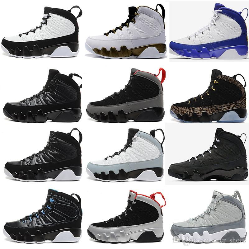 7b3cac0c3a162a 2018 9 9s Men Basketball Shoes OG Space Jam Tour Yellow PE Anthracite The Spirit  Johnny Kilroy 2010 Release Sports Shoes Sneakers Sports Shoes Basketball ...