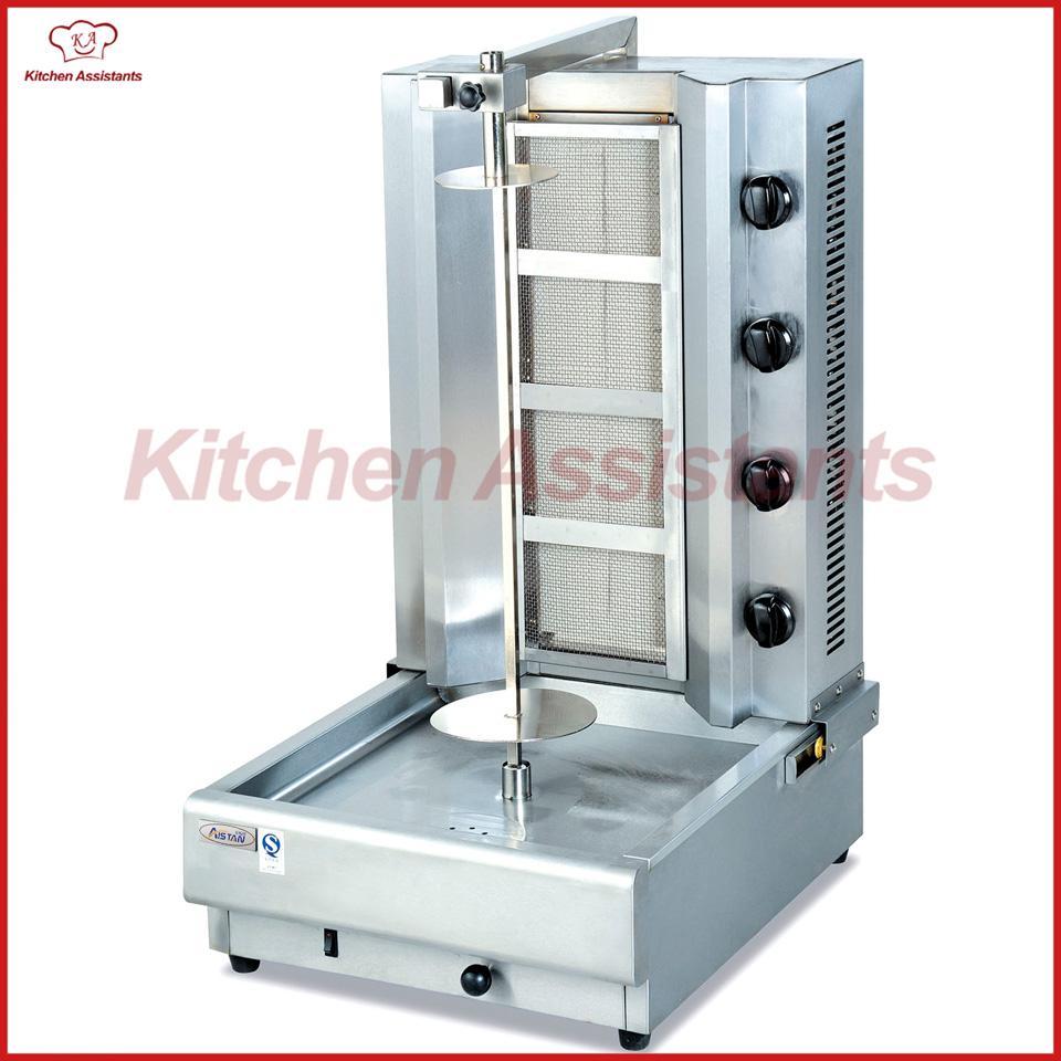 GB950 Gas Kebab Roaster Machine of Fast Food Machinery Roaster Kebab ...