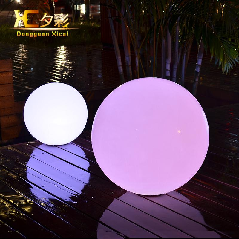 Nice Outdoor Ball Lights Part - 1: Online Cheap 35cm Outdoor Led Decorative Ball Lighting Home Garden  Landscape Lights Floor Lawn Lamp Swimming Pool Ball Lamps By Samanthe |  Dhgate.Com
