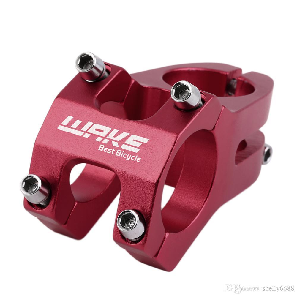 Vástago trabajado a máquina CNC de alta resistencia del tronco de la bicicleta del vástago de la bicicleta del tronco de la bicicleta de la aleación de aluminio de 31.8mm
