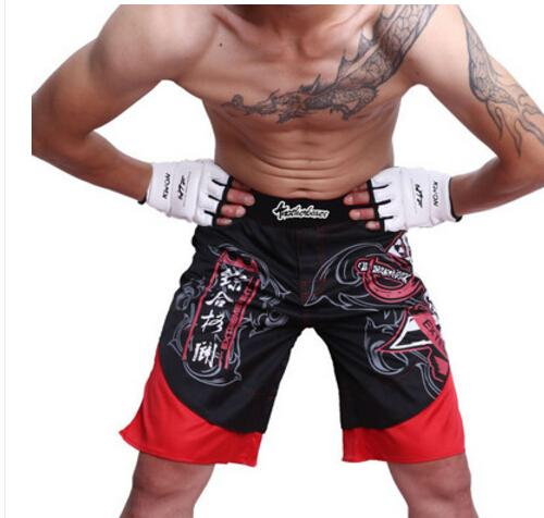 2018 Death clutch Red and black man Shorts MMA Fight shorts boxing short L XL XXL XXXL