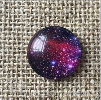 2018 HOT selling Space stars galss Snap button Charm Popper for Snap Jewelry picture pendant
