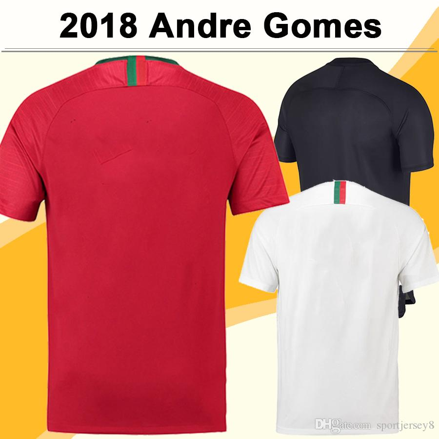 6d53b36a2 2018 World Cup Soccer Jerseys SILVA J.MOUTINHO Home Red Away White Football Kit  Shirts Top Thailand ANDRE GOMES Mens Short Training Wear UK 2019 From ...