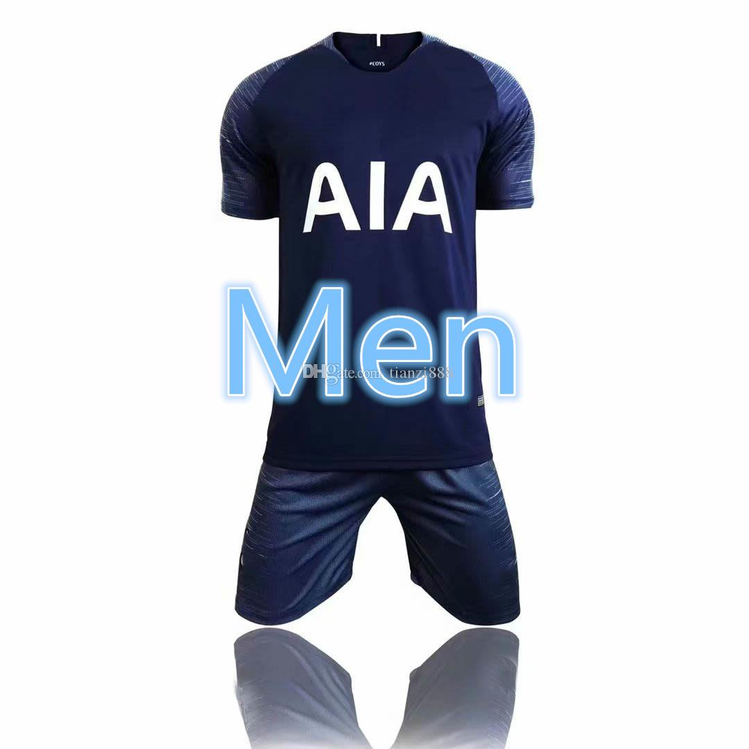 b395ca307ad 2019 18 19 Tottenhamis Kane Home Hotspuris Spurs Soccer Jersey 2018  2019 Away  SON Lamela Eriksen Dele Lloris Men Football Shirt Reci From Tianzi888
