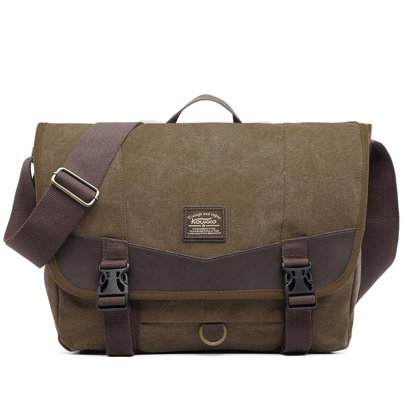 Girl Single Shoulder Bag Laptop Bag Men Casual Briefcase College Retro  Handbag Vintage Mens Canvas Leather Messenger Travel Mens Satchel Bags  Leather Laptop ... 8beb0c0d83d81