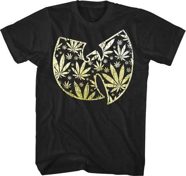 7e95c5039521 WUTANG CLAN Pot Leaf Tin Foil Logo T SHIRT S M L XL 2XL Brand New Official T  Shirts Shopping Online T Shirts Sites From Amesion38, $12.08  DHgate.Com
