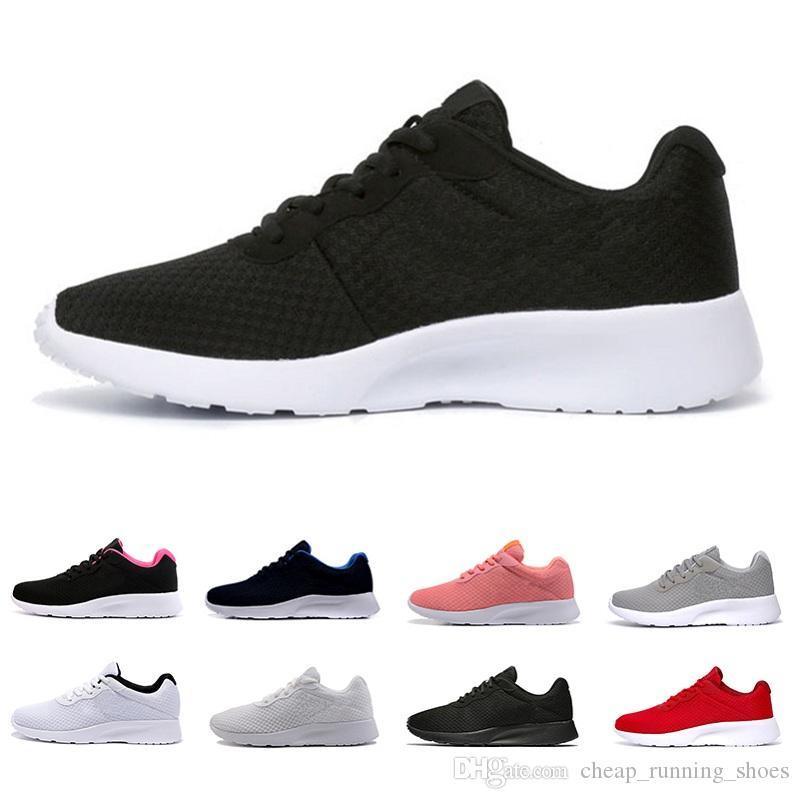 07224d77e0 ... d510621cfcd Compre Roshe Shoes Tanjun London 3.0 Correr Homens Mulheres  Tênis Em Execução Olímpico Rosa Preto  a24c953b798 Branco ...