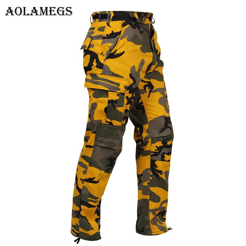 Compre Aolamegs Hombre Pantalones De Chándal Casual Pantalones De Camuflaje  Cargo Pantalones De Chándal Pantalones Ligeros De Marea Calle Alta Harem ... 69ae3e9b5d4