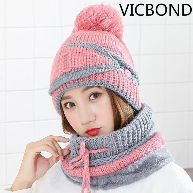 0fe7d91b 2018 Hat Children Winter Han Knitwear Warmth Neck Masks Body ...