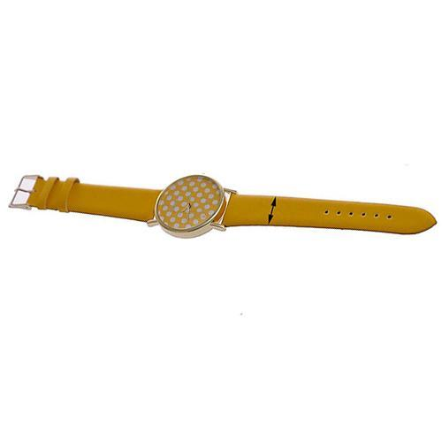 26c8611e8a5 Fahsion Top Brand Women Geneva Fashion Sweet Small Polka Dot Dial Faux  Leather Quartz Wrist Watch Ladies Watch Relogio Digital Wrist Watches Wrist  Watchs ...