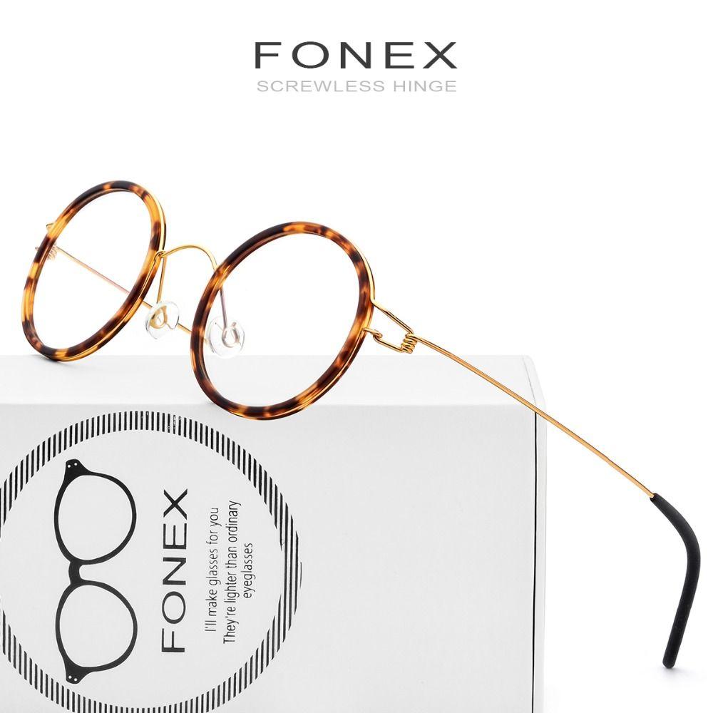 Compre Fonex Gafas Sin Jeringa Hechas A Mano Anteojos Recetados ...