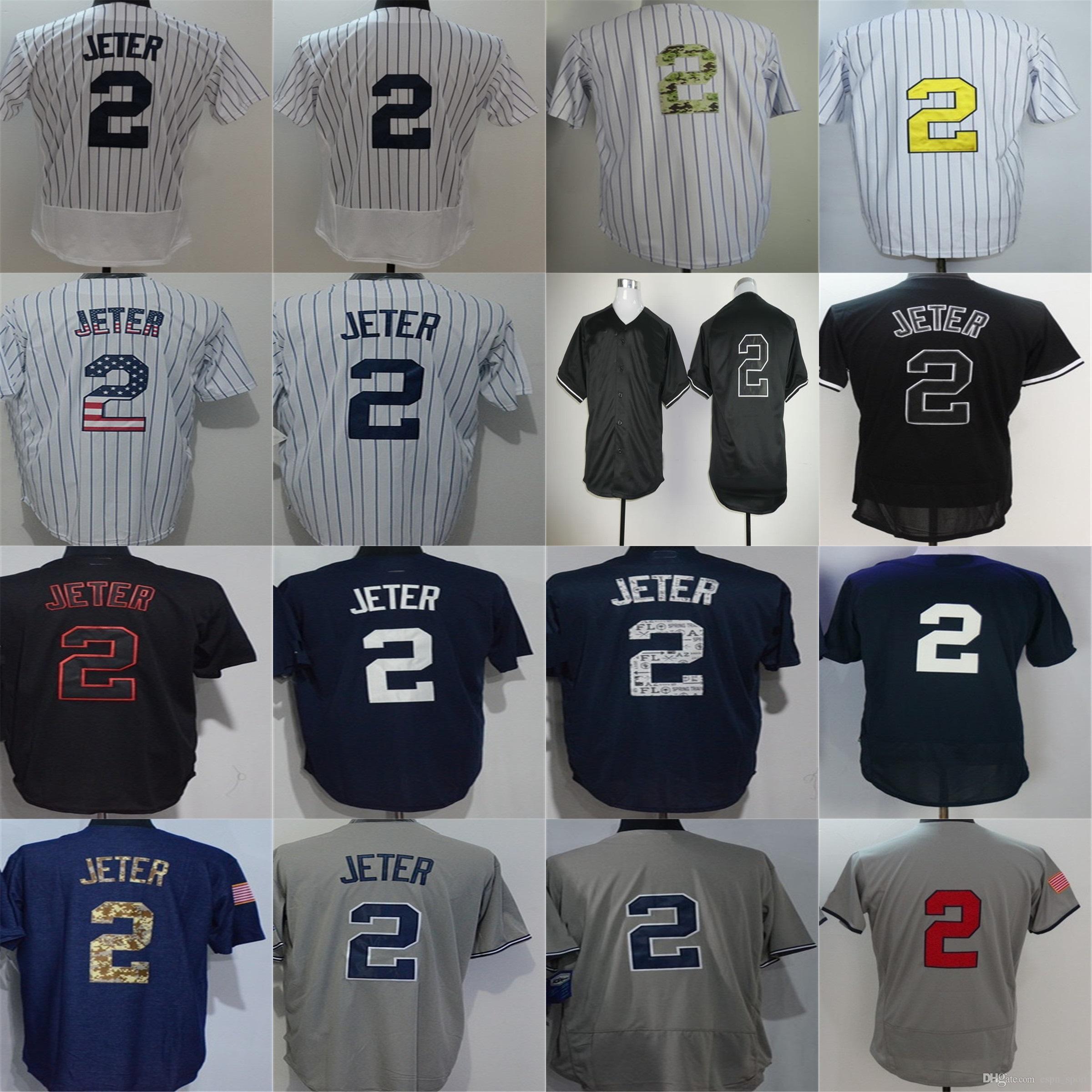 huge selection of 5345a 6cc8a discount 2 derek jeter jersey c390a dd206