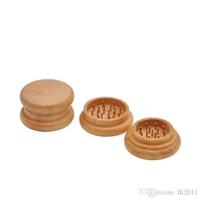 Amoladora de tabaco para fumar madera de madera amoladora de tabaco aleación de zinc molinillo de tabaco