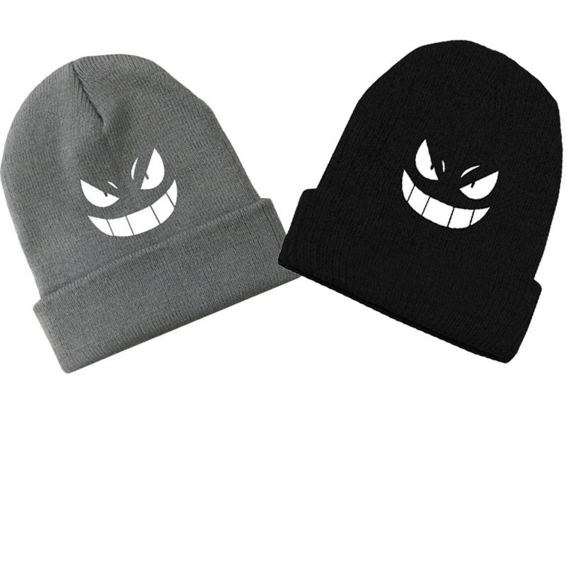 Acquista Trend Unisex Anime Gengar Skull Beanie Cotton Knitted Ski Skullies  Hip Hop Baggy Cap Inverno Cosplay Cappello Coppie Regalo Di Natale A  46.25  Dal ... 9b3a868adaf3