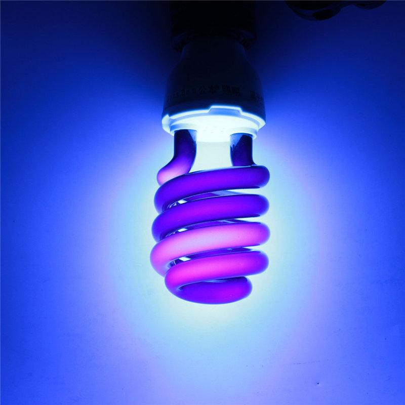 Uv Light Bulb E27 36w 40w Energy Saving Black