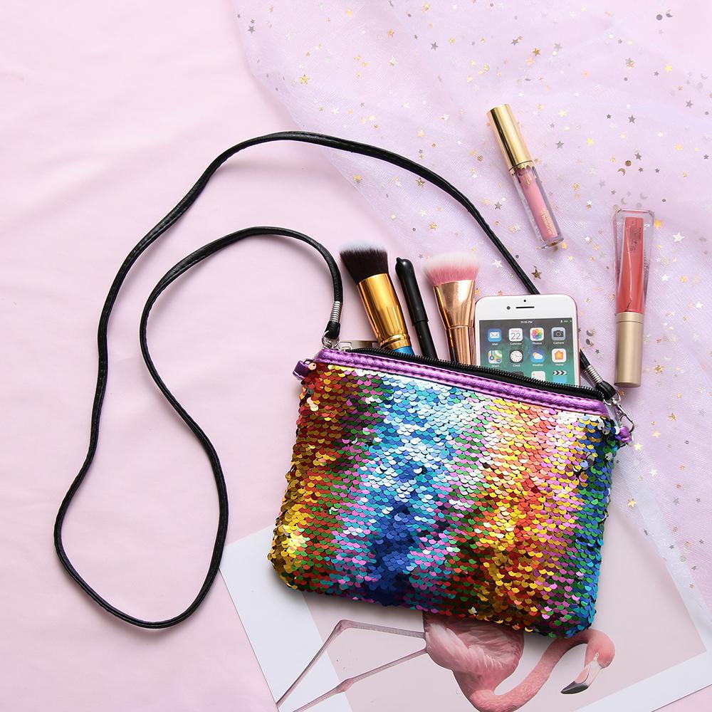 Women Sweet Messenger Bag Glitter Sequins Crossbody Bag Shoulder Small  Envelopes Bags Party Clutch Handbags Kids  Gifts School Backpacks With  Wheels ... c5f57deee945
