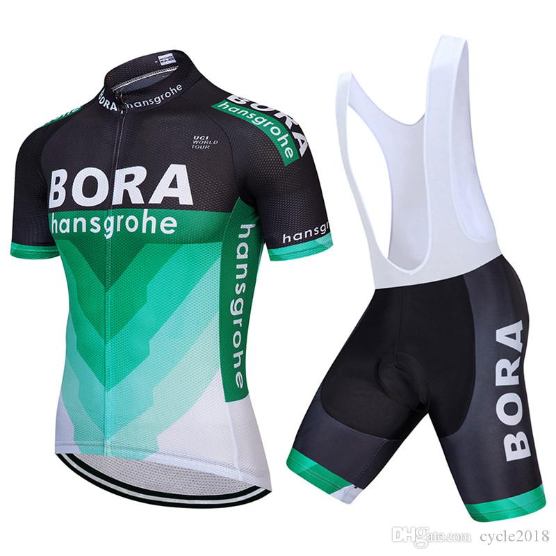 2017 Tour De France BORA Cycling Jersey Set Men MTB Bike Bib Shorts +9D Gel  Pad Ropa Ciclismo Cycling Clothing Bicycle Wear Shirt Cycling Tights Best  ... f0937b885