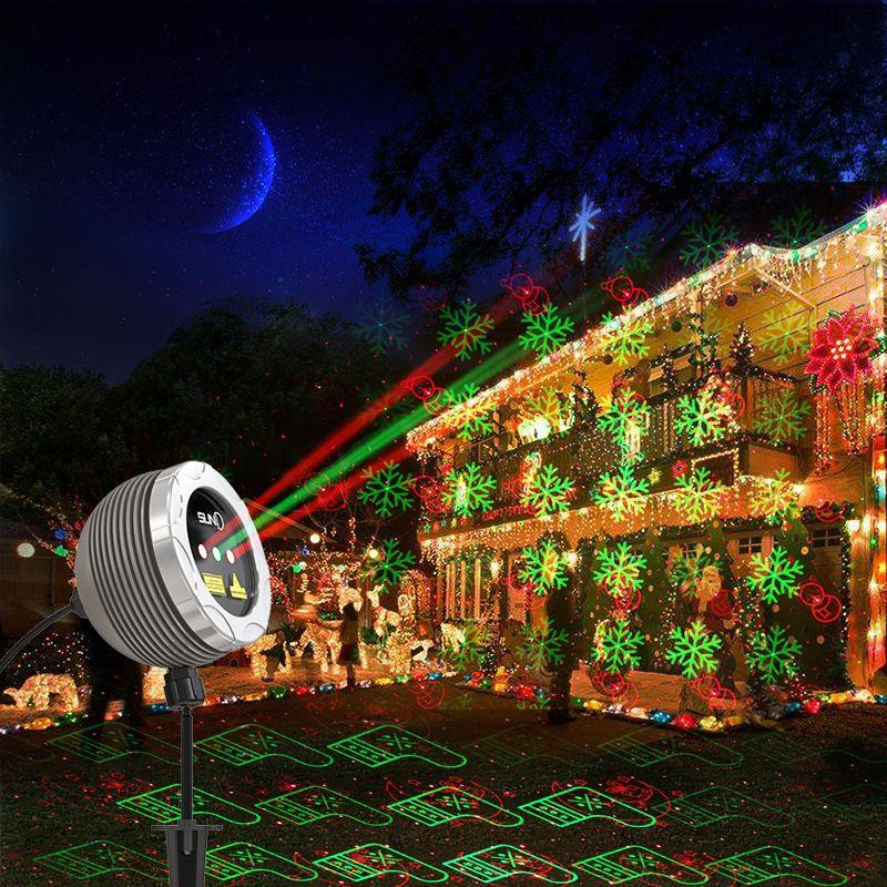 Großhandel 2017 Neue Jahr Led Sterne Laser Lichter Weihnachten ...