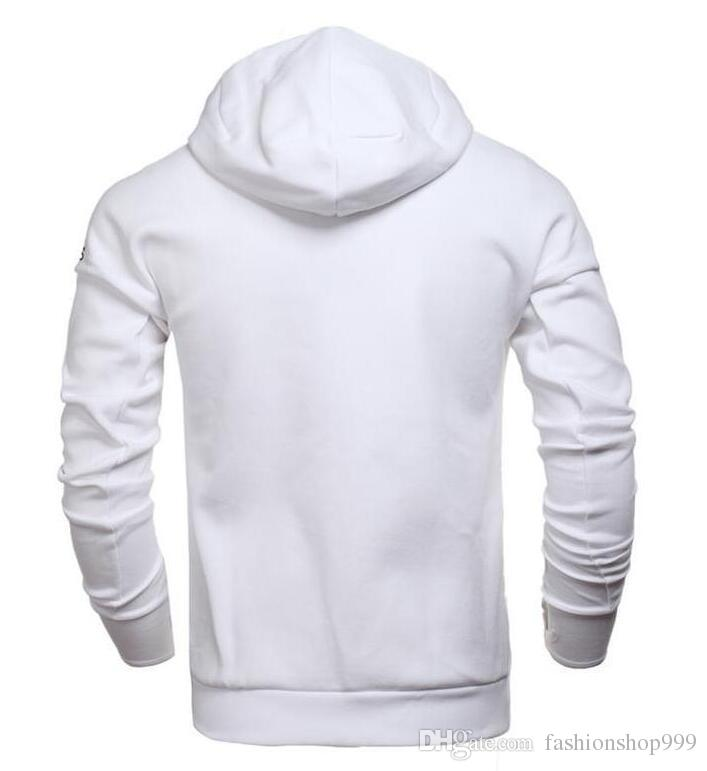 Marke Frühling und Herbst Männer Sportjacke Kapuzenjacke Männer beiläufige dünne Windjacke Reißverschluss Sportwear Mode Z N E Hoody Coats