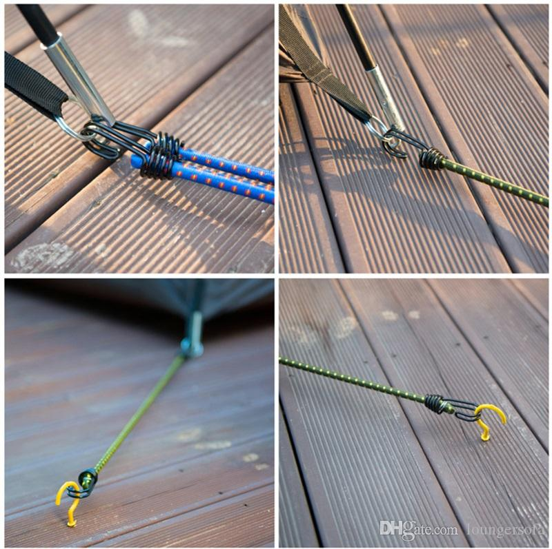 Bold Tent Rope For Camping Hiking High Elastic Force Overstriking Clothesline Binding Luggage Pack Solid Ropes New Arrival 2gt Z