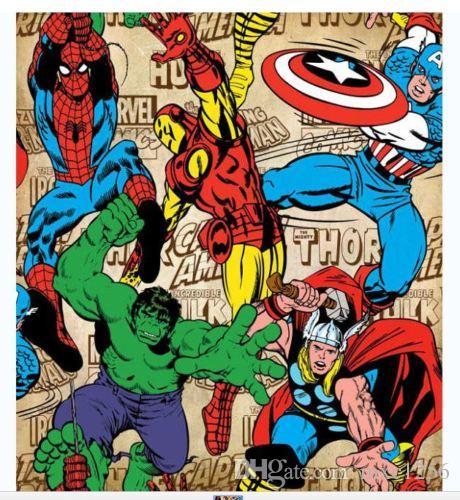 [Top 10] - MARVEL Comics - Parte 2 - Séries Animadas O-vingador-da-marvel-cortina-de-chuveiro