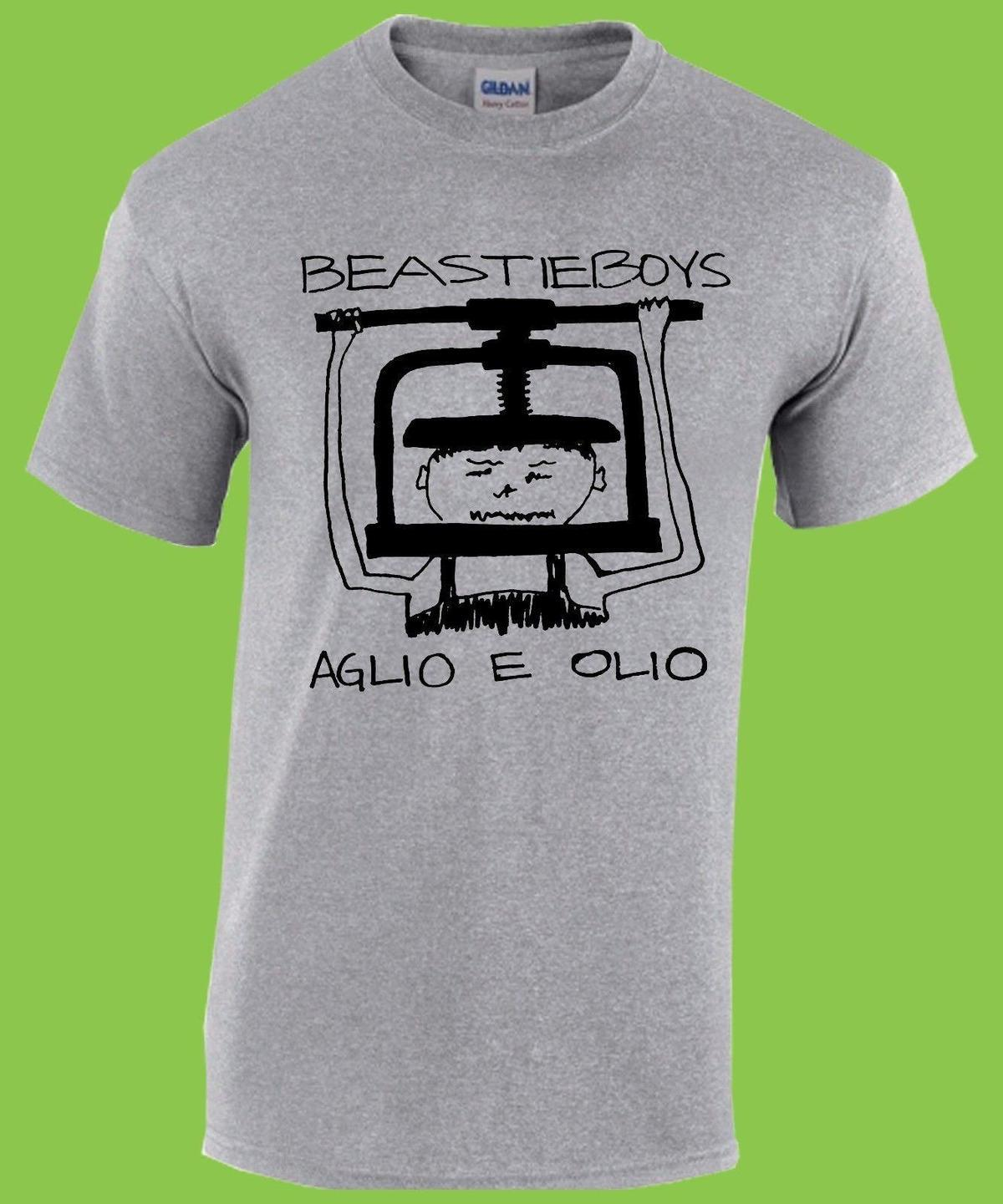 de37c83f BEASTIE BOYS Aglio E Olio T Shirt Public Enemy, RHCP, Bad Brains, Fugazi  Clever Funny T Shirts Funny Tshirts From Linnan00002, $14.67| DHgate.