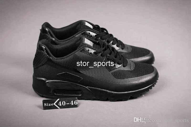 2018 Chaussures hommes chaussures nike air max 90 HYP PRM QS Koşu Ayakkabı Satış Çevrimiçi Moda Bağımsızlık Günü Zapatillas ABD Bayrağı Spor Sneakers 40-46