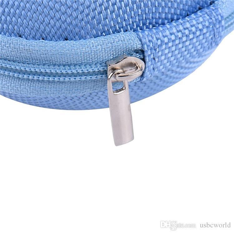 Neue Bunte Halten Fall Lagerung Hard Bag Box Fall Für Kopfhörer Kopfhörer Ohrhörer Speicherkarte Aufbewahrungstasche
