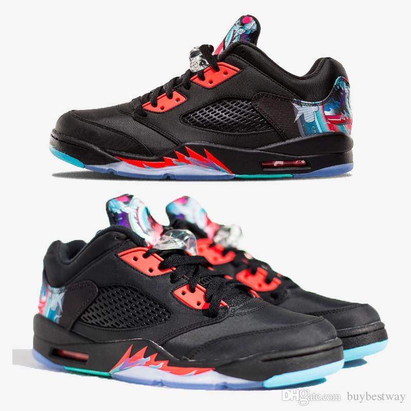 26b5d79ba8c 2019 5s Low Chinese New Year Kite Basketball Shoes Men Women 5s CNY Kite  Sports Sneakers With Shoes Box Xz115 From Buybestway, $53.65 | DHgate.Com