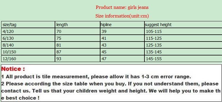 V-TREE Girls Leggings Pants Teenagers Girls Jeans Fancy Pants For Girl School Kids Children Jeans Clothes 8 9 10 12 Years
