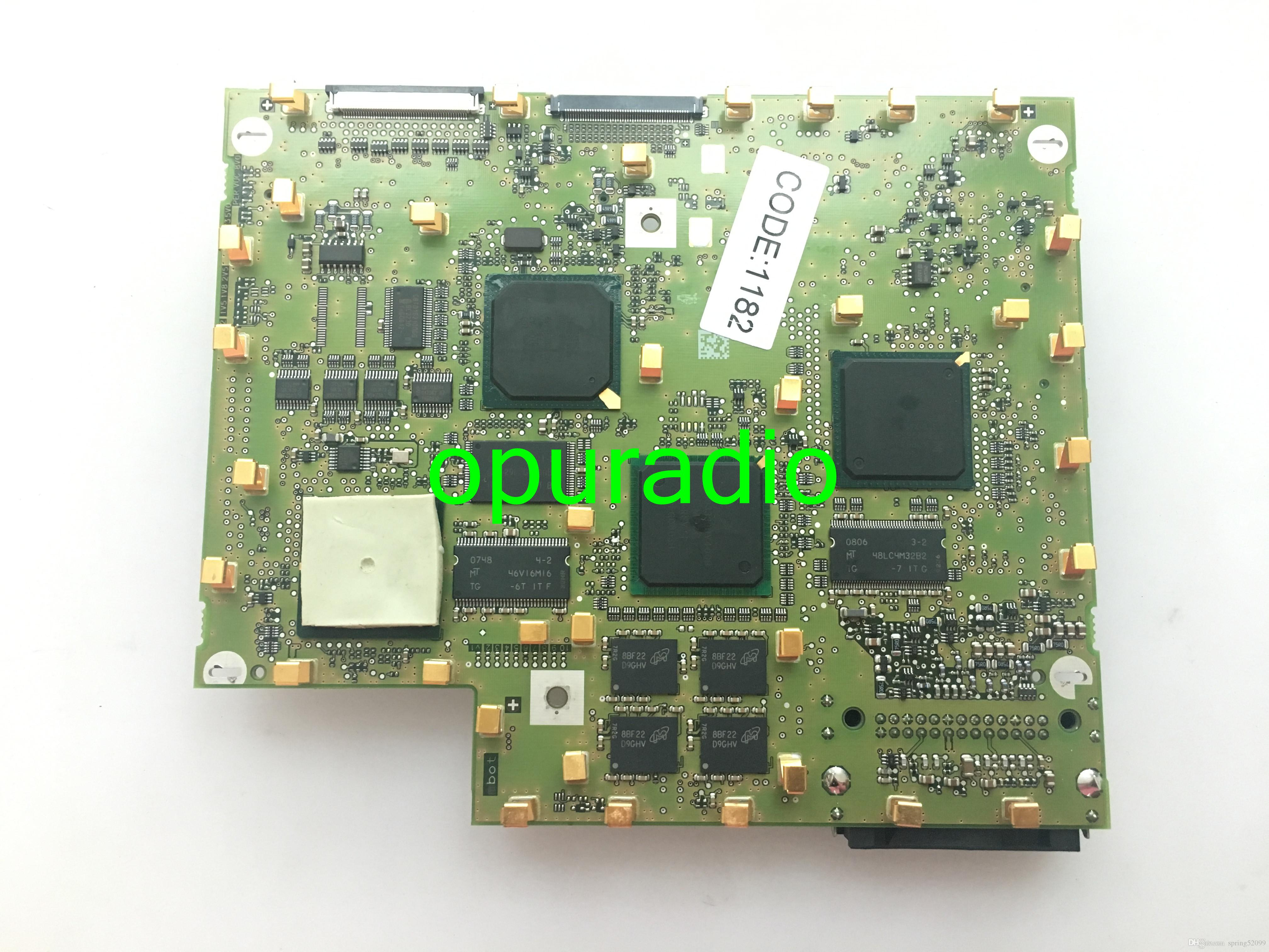 Free shipping VW RNS510 mainboard LCD series with code for VW RNS510 car  GPS navigation audio systems