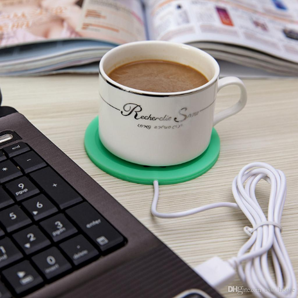 5V USB silicone chaud chauffe thé tasse à café boissons Coupe  IU