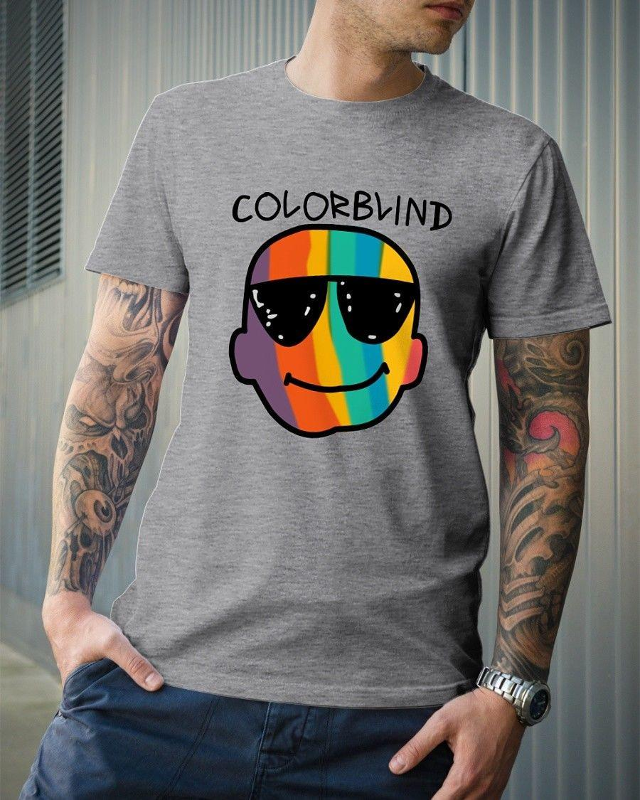 Details Zu Funny Color Blind Shirt Color Blind Men S T Shirt Funny