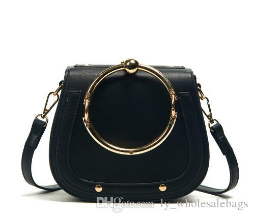 2e1a6569450 2018 Top Handle Brand Bags Female Shoulder Bags Women S Saddle Evening  Handbags Lady S Fashion Crossbody Shoulder Bags For Women Overnight Bags  Bags For ...