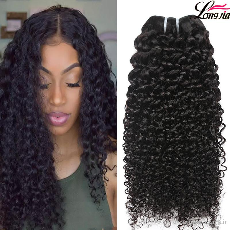 Peruvian Curly Human Hair Weaves 100% Virgin Unprocessed 8A Brazilian Malaysian Indian Cambodian Mongolian Jerry Kinky Curls Hair Extensions