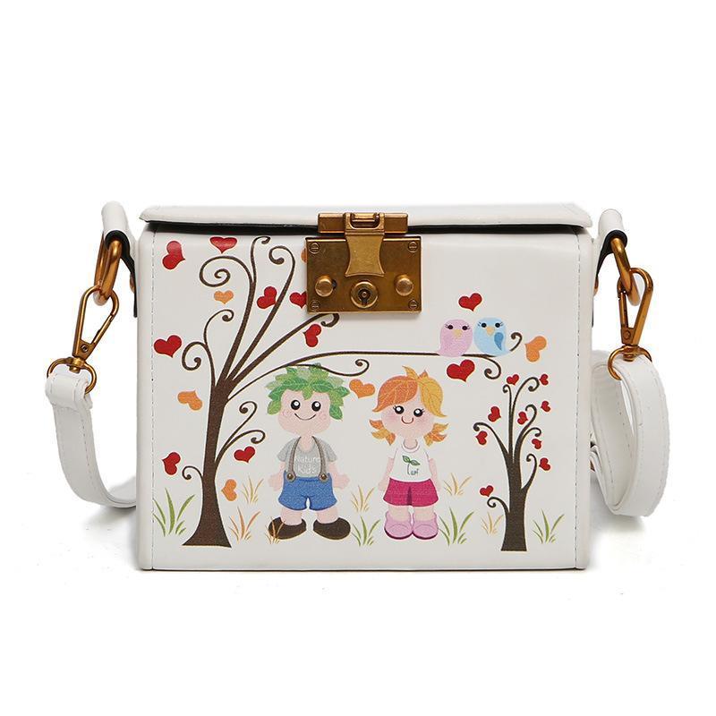 0bfb3ce788f6 Designer Handbags Women New Famous Brand Bags PU Leather Shoulder Bags  Printing Sticks Ladies Handbag Vintage Messenger Bag High Quality Side Bags  Handbag ...