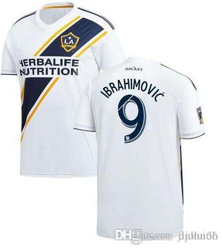 630e5829e 2018 Los Angeles LA Galaxy Soccer Jerseys IBRAHIMOVIC David Beckham  Football Shirt Landon Donovan Gonzalez Keane Juninho LA Galaxy Online with   18.35 Piece ...