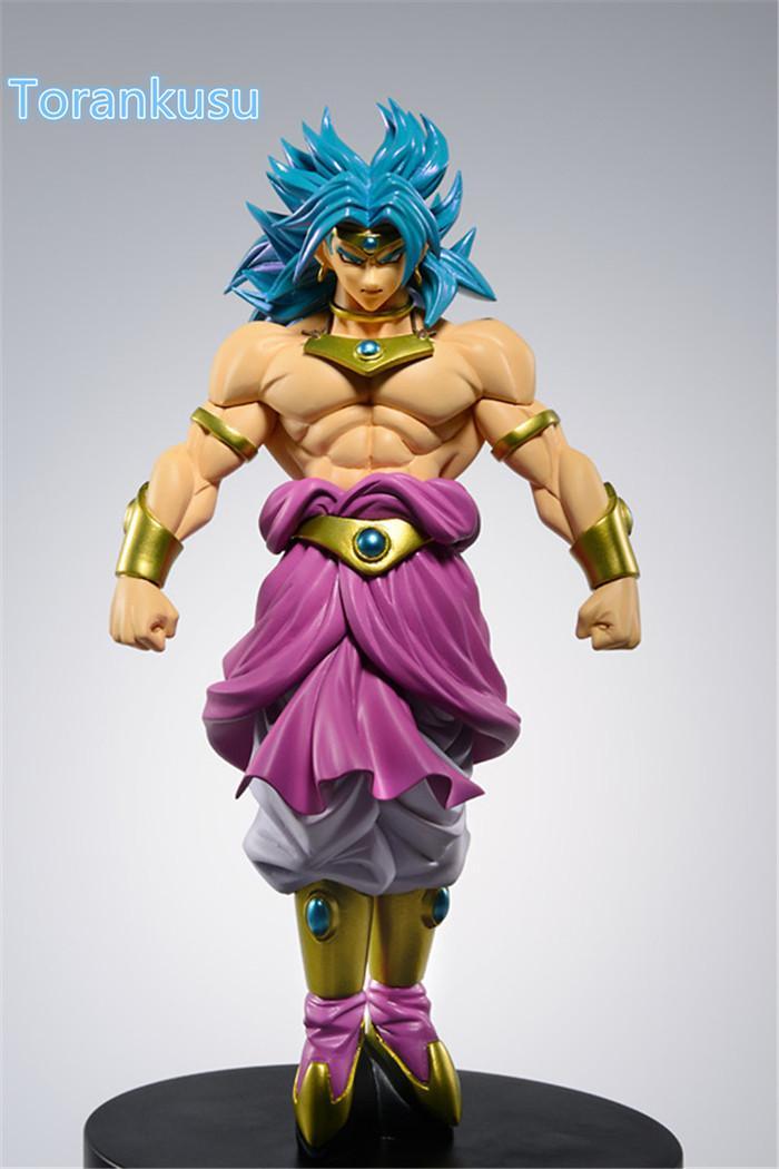 compre dragon ball z figura de ação broly scultures grande 160 mm