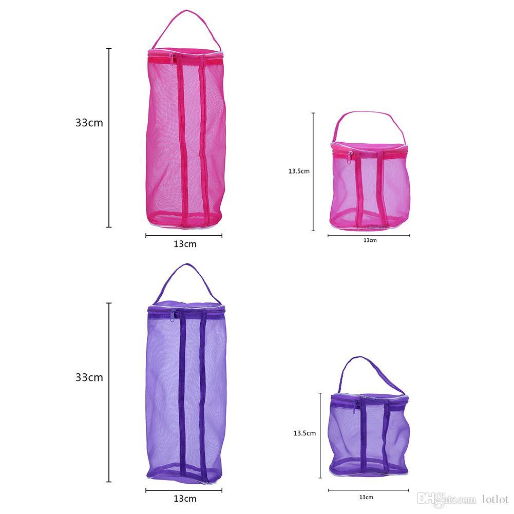 Malha Kit De Costura Saco Oco DIY Ferramentas de Mão Tecelagem Novo Saco De Malha Saco de Armazenamento de Fios de tricô assistente de ferramentas Em Casa E5M1