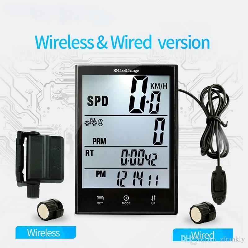 2018 2.7 Inch Screen Wired Wireless Cycling Bike Computer Lcd ...