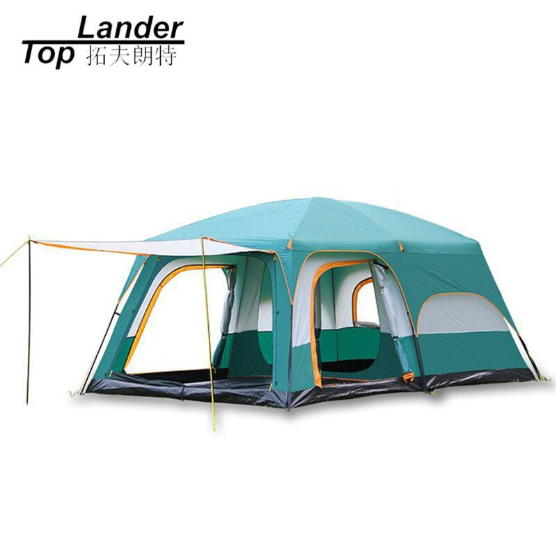 8 10 12 Person Large C&ing Tent Waterproof Family Tents For Outdoor Double Layers Event Luxury C&ing Tents Tent Sales 4 Man Tent From Capsicum ...  sc 1 st  DHgate & 8 10 12 Person Large Camping Tent Waterproof Family Tents For ...