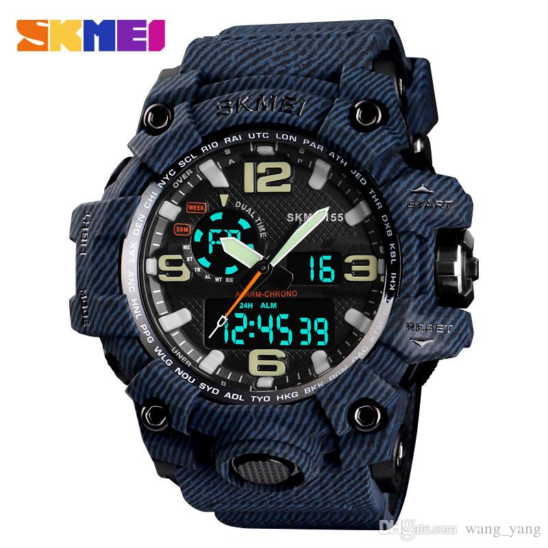2018 New Fashion Women Watches Led Display Sport Wristwatches Military Men Watch Pink Soft Silicone Clocks Erkek Kol Saati Reloj Men's Watches