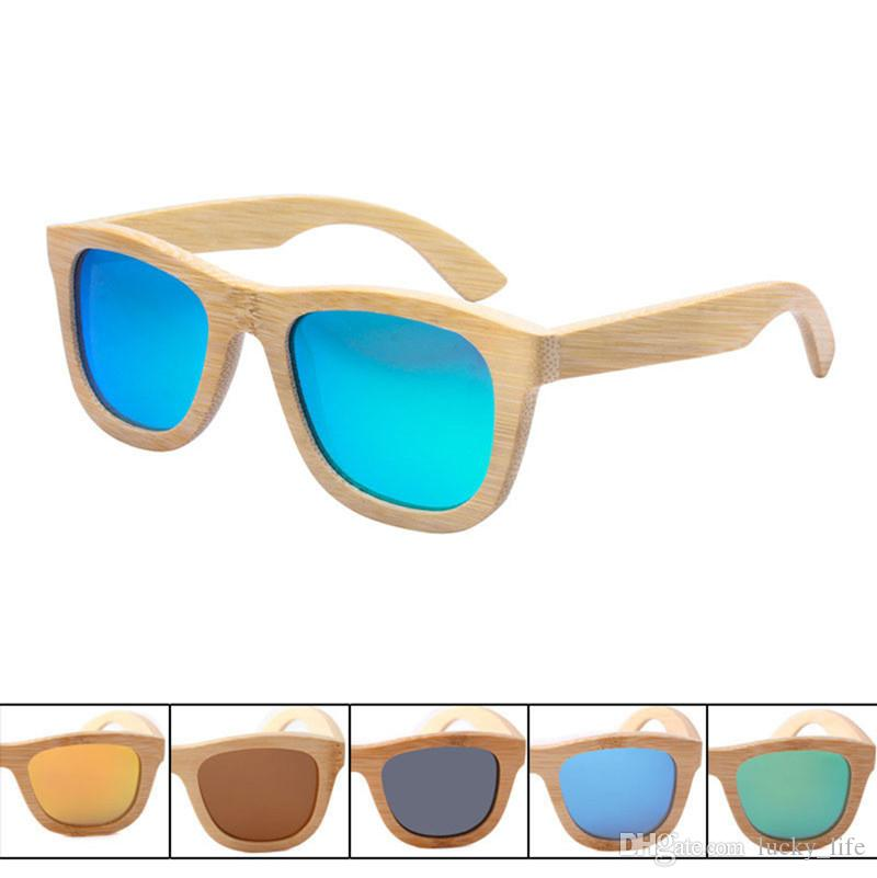 8430d4098b9 New Fashion Polarized Men Women Sun Glass Bamboo Sunglasses Retro Vintage  Polarized Lens Wood Bamboo Frame Handmade Wooden Sunglasses Prescription ...
