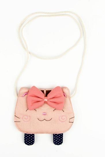 2018 Girl Coin Purse Children's Wallet Small Change Purse Kid Bag Coin Pouch Money Holder Cat/Fox/Bear/Hedgehog Baby Handbag./