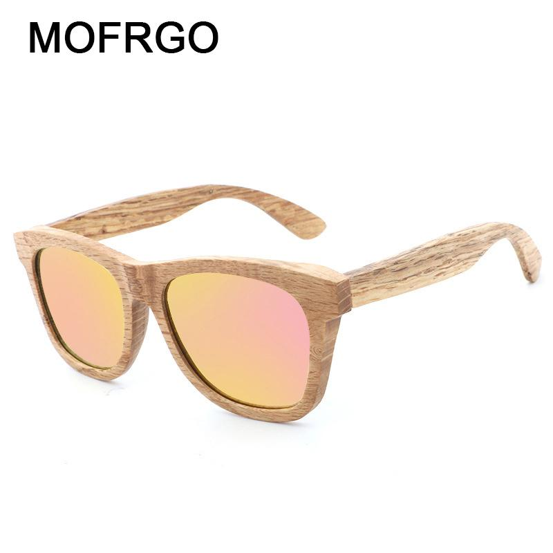 3610cf5f3d4 New Fashion Restore Natural Bamboo Polarized Sunglasses Travel ...