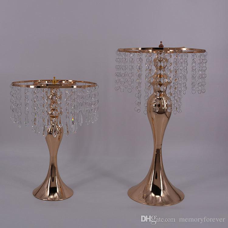 17.3\'\' Tall Wedding Table Centerpiece Candle Holder Road Lead Flower ...