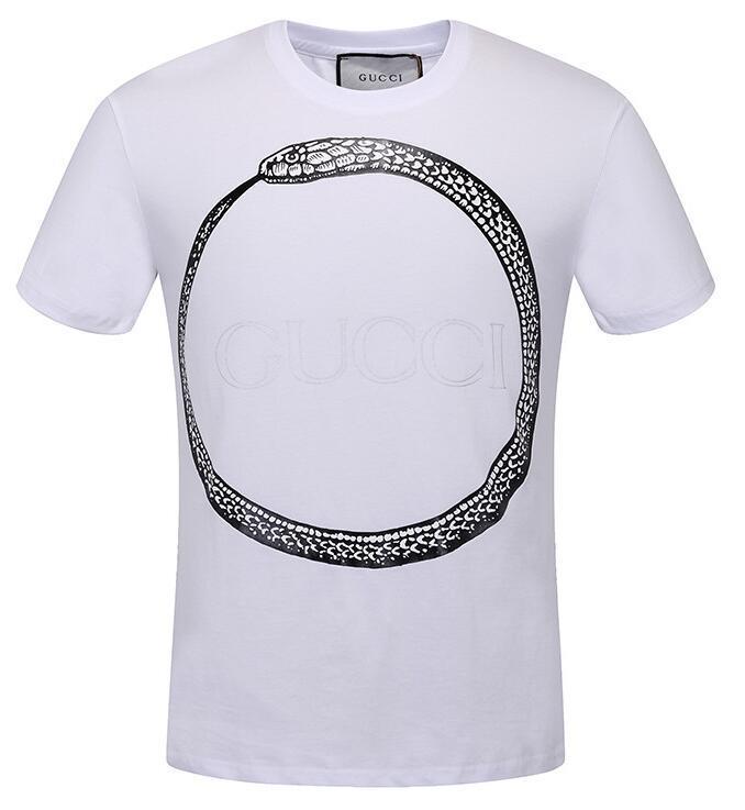 5c17ddf90fe Compre 2019 Engraçado Marca De Impressão De Cobra T Shirt Dos Homens Mulher GUCCI  Tshirt Camiseta De Manga Curta Breaking Bad Tops Heisenberg T Camisas 267  ...