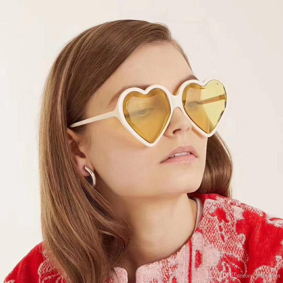 ae94673e1aee New Arrival Women Funny Sunglass Retro Heart Shaped Sunglasses ...