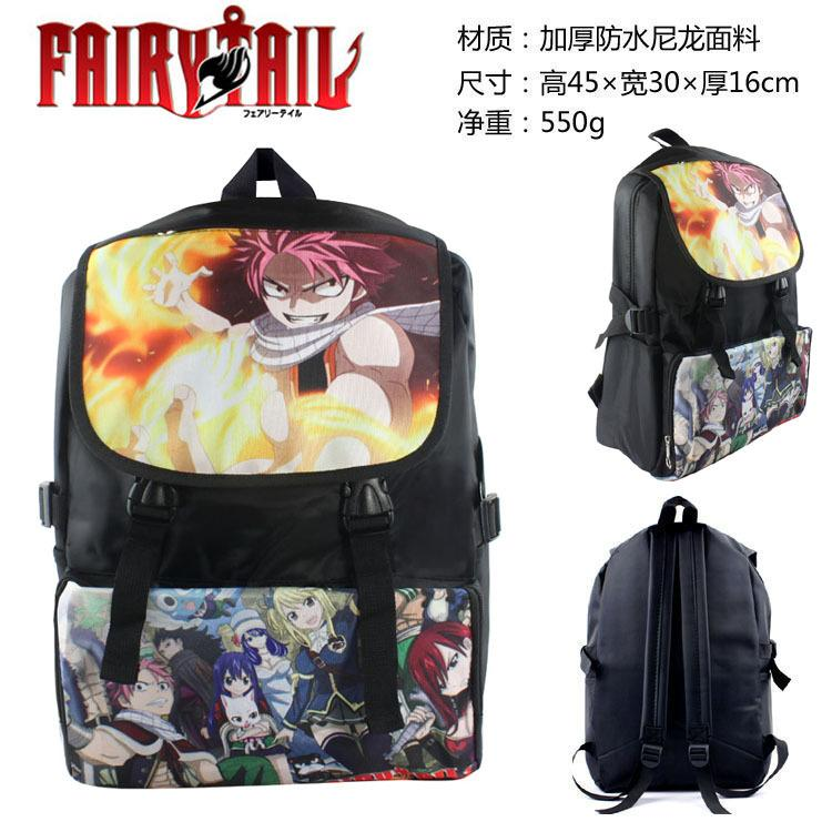 036ca5b6618b Fairy Tail Backpack Anime Teenager Boys Girls Book Bag Children School Bags  Women Laptop travel bag Daypack anime cosplay