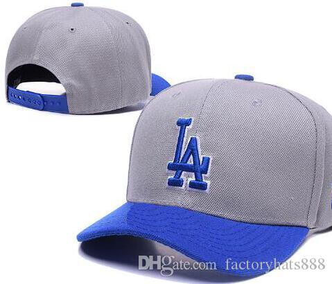 2018 Sports Los Angeles Hat Baseball La Cap Embroidery Thounds Styles  Outlet Snapback Snap Back Adjustable Snapbacks Sport Hat Drop Ship 003 Neweracap  Cap ... 9a54977a4a29